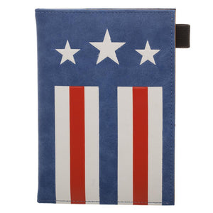 Captain America Passport Wallet - Superhero Supervillain - United States - Superherosupervillain.com