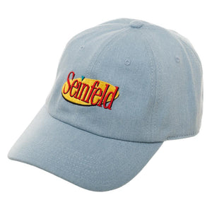 69fdf32548d Seinfeld Hat w  Seinfeld Logo - Gift for Men - Superhero Supervillain -  United States