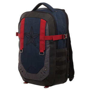 Captain America Laptop Backpack - Superhero Supervillain - United States - superherosupervillain.com