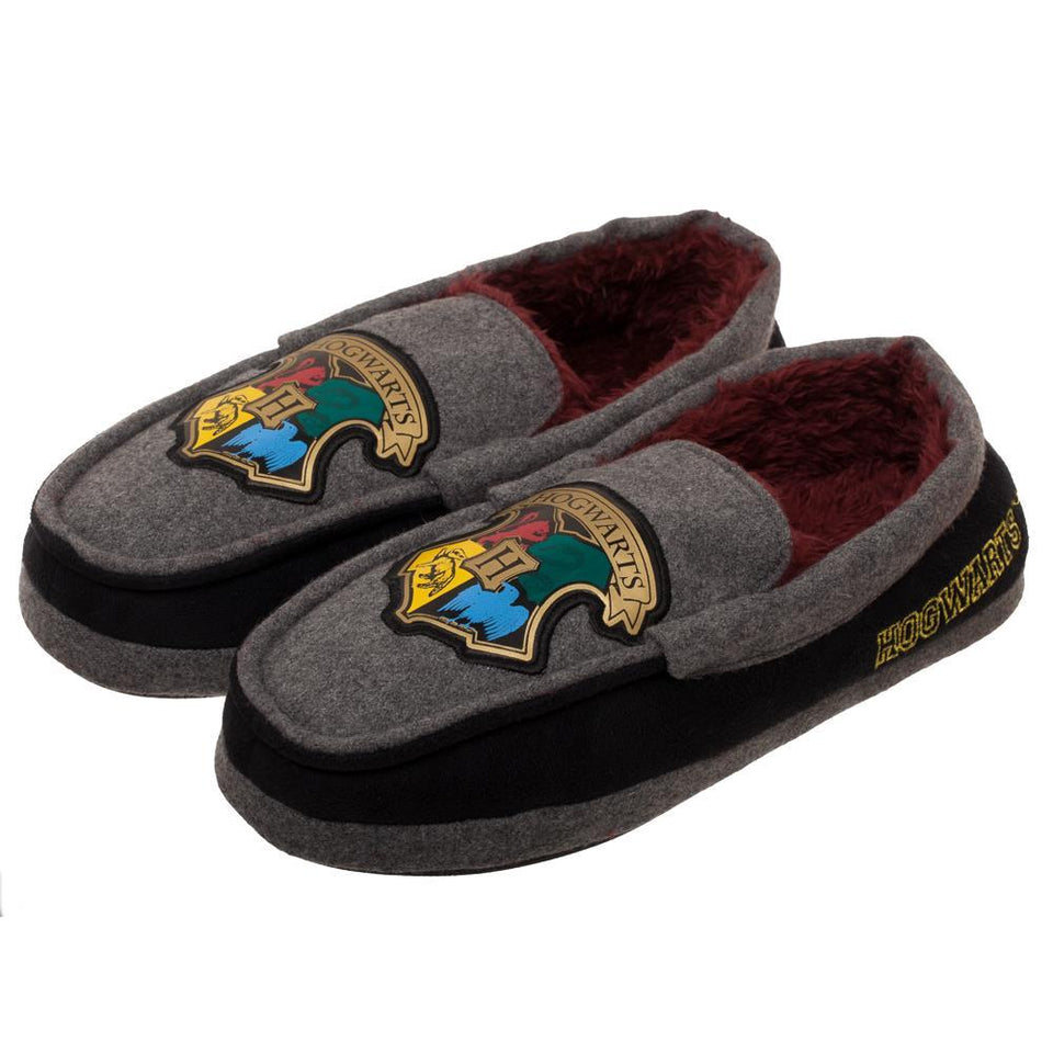 Harry Potter Mocassins Harry Potter Gift for Men Harry Potter Footwear Harry Potter Apparel Harry Potter Slippers - Superhero Supervillain - United States - superherosupervillain.com