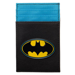 DC Comics Batman Front Pocket Wallet - Superhero Supervillain - United States - Superherosupervillain.com