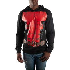 Marvel Deadpool Cosplay Hoodie - Superhero Supervillain - United States - Superherosupervillain.com