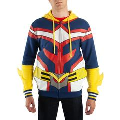 My Hero Academia Cosplay All Might Hoodie - Superhero Supervillain - United States - Superherosupervillain.com