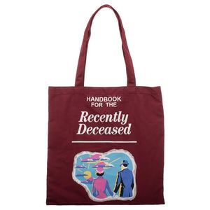 Beetlejuice Handbook For The Recently Deceased Canvas Tote Bag - Superhero Supervillain - United States - superherosupervillain.com