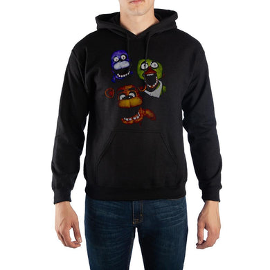 Five Nights at Freddy?s Jumpscare Pullover Hooded Sweatshirt - Superhero Supervillain - United States - superherosupervillain.com