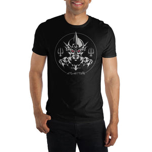 DC Comics Aquaman Ocean Master Black T-Shirt