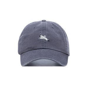 Comfortable Embroidered Slastonomy Space Ship Dad Hat - Baseball Cap / Baseball Hat - Superhero Supervillain - United States - superherosupervillain.com