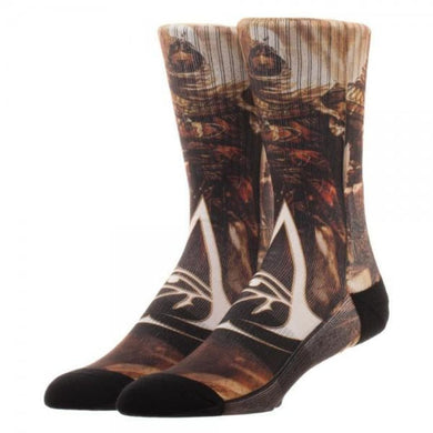 Assassin's Creed Origins Sublimated Socks - Superhero Supervillain - United States - Superherosupervillain.com