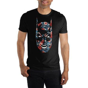Batman Flower Face T-shirt - Superhero Supervillain - United States - Superherosupervillain.com