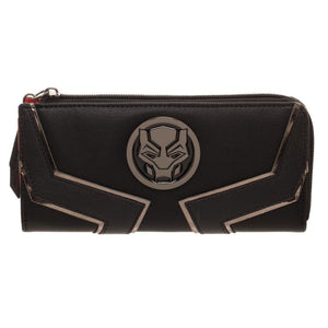 Black Panther L-Zip Wallet - Superhero Supervillain - United States - Superherosupervillain.com