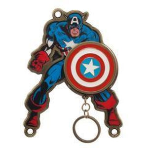 Captain America Keychain and Marvel Key Holder - Superhero Supervillain - United States - Superherosupervillain.com