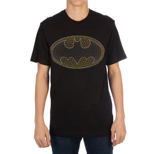 DC Comics Batman Pixel Bat Logo T-shirt - Superhero Supervillain - United States - Superherosupervillain.com