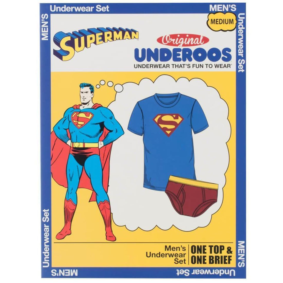 DC Comics Superman Underoos - Superhero Supervillain - United States - superherosupervillain.com