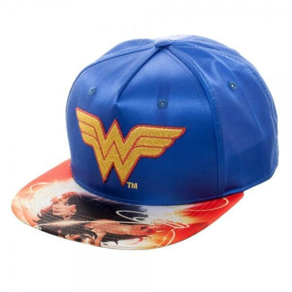 DC Comics Wonder Woman Satin Snapback - Superhero Supervillain - United States - Superherosupervillain.com
