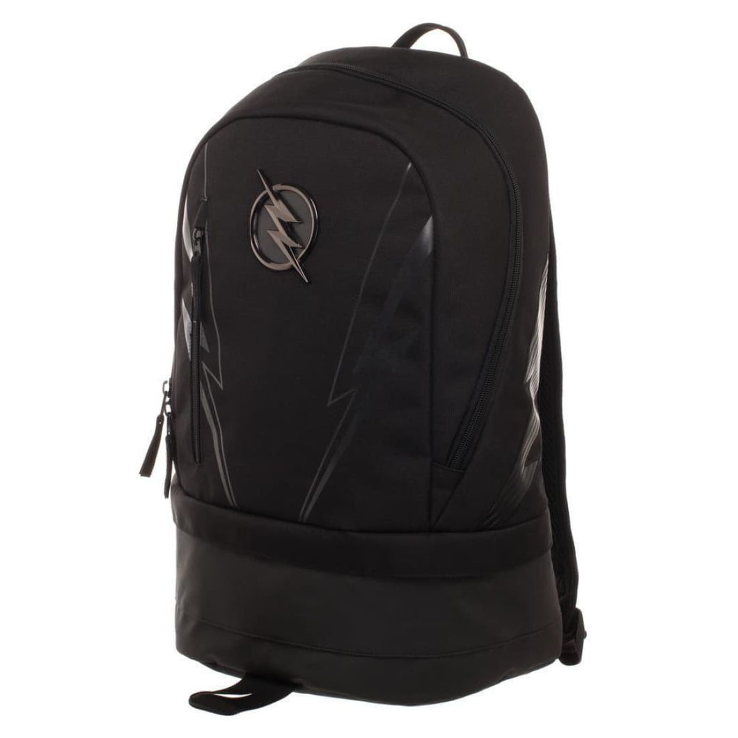 DC ZOOM Black Polyester Backpack with Bottom Compartment - Superhero Supervillain - United States - superherosupervillain.com