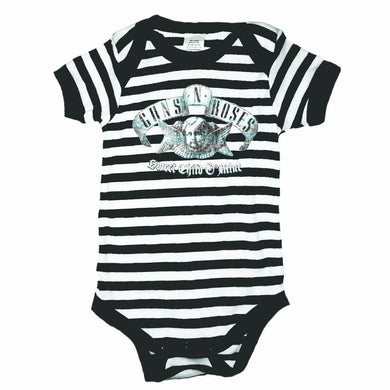 Guns N' Roses Sweet Child Black White Onesie - Superhero Supervillain