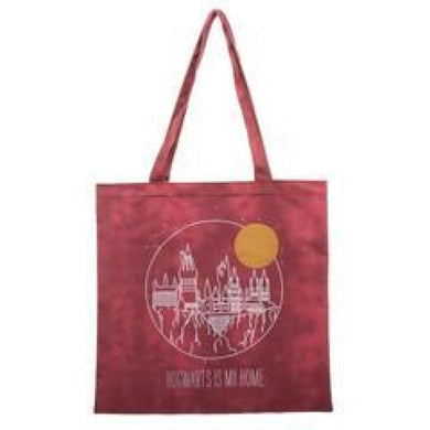 Harry Potter Hogwarts Is My Home Canvas Tote Bag - Superhero Supervillain