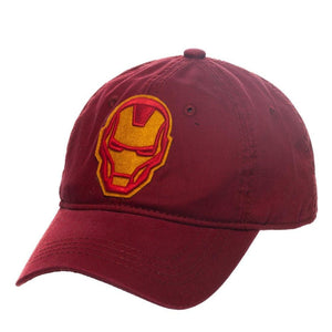 Iron Man Hat - Adjustable Hat w/ Iron Man - Marvel Comics Gift for Men - Superhero Supervillain - United States - superherosupervillain.com