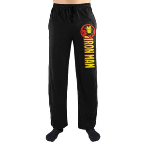 Iron Man Print Lounge Pants - Superhero Supervillain - United States - superherosupervillain.com