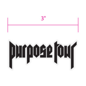 Justin Bieber | Purpose Tour Patch - Superhero Supervillain - United States - Superherosupervillain.com