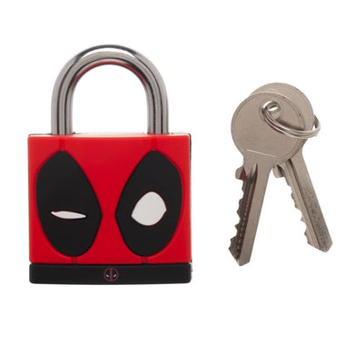 Marvel Comics Deadpool Mask Large PadLock - Superhero Supervillain