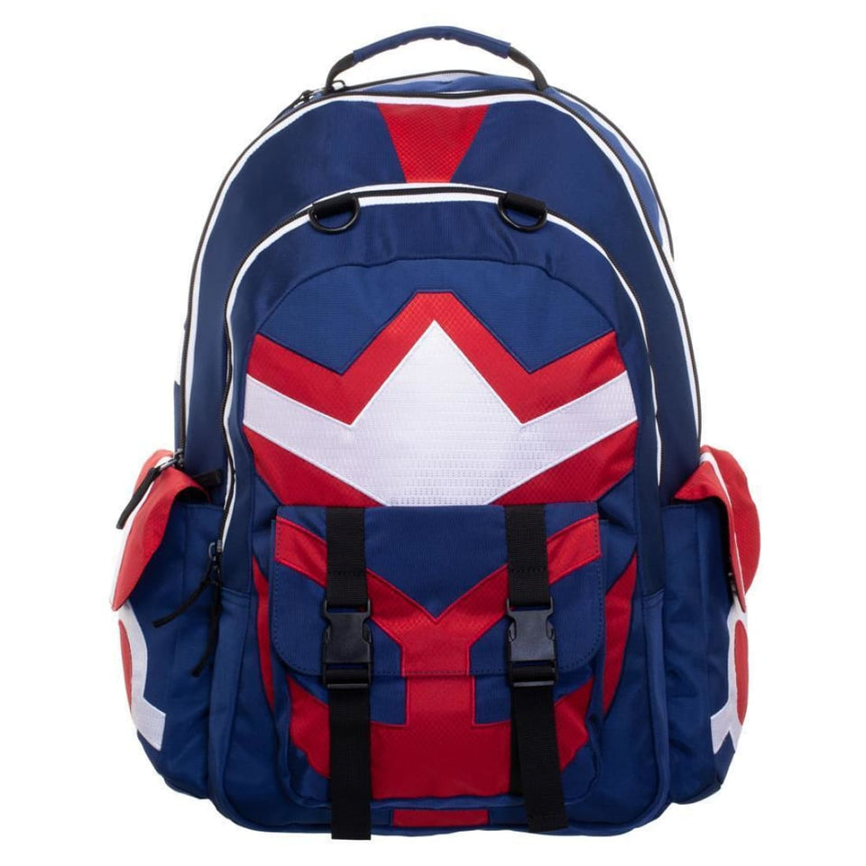 My Hero Academia Backpack Inspired By Toshinori Yagi All Might Backpack - Superhero Supervillain - United States - superherosupervillain.com