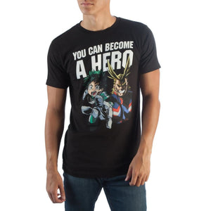 My Hero Academia Become A Hero T-Shirt - Superhero Supervillain - United States - Superherosupervillain.com