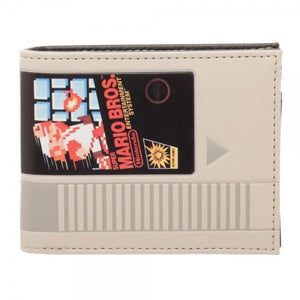 Nintendo Super Mario Cartridge Bi-Fold Wallet - Superhero Supervillain - United States - Superherosupervillain.com