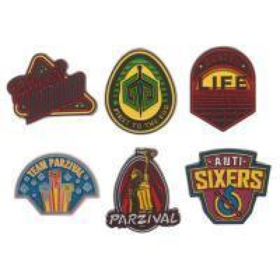 Ready Player One Set of 6 Lapel Pins - Superhero Supervillain - United States - superherosupervillain.com