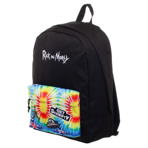 Rick and Morty Inspired Tye Dye Backpack - Superhero Supervillain