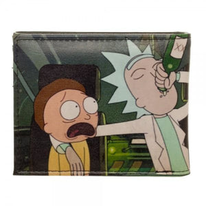Rick and Morty PU Bi-Fold Wallet - Superhero Supervillain