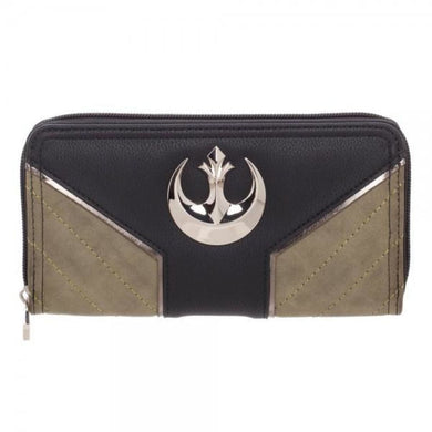 Star Wars Rogue One Rebel Jyn Zip Around Wallet - Superhero Supervillain - United States - Superherosupervillain.com