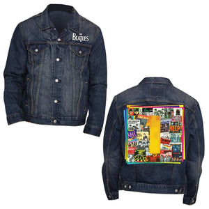 The Beatles 1s Navy Denim Jacket - Superhero Supervillain - United States - Superherosupervillain.com