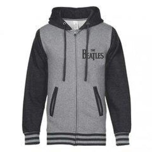 The Beatles | Classic Logo Varsity Zip Hoodie - Superhero Supervillain - United States - Superherosupervillain.com