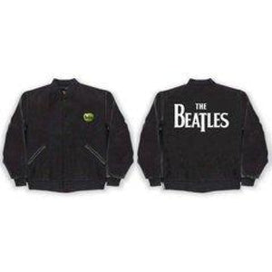 The Beatles | Drop T Logo Varsity Jacket - Superhero Supervillain - United States - Superherosupervillain.com