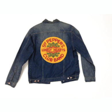The Beatles | Sgt Peppers Denim Jacket - Superhero Supervillain - United States - Superherosupervillain.com