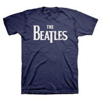The Beatles | Vintage Logo T-Shirt - Superhero Supervillain - United States - superherosupervillain.com