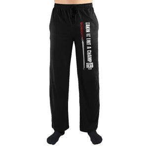 The Walking Dead Takin It Like A Champ Print Loungewear Pajama PJs Pants - Superhero Supervillain - United States - superherosupervillain.com