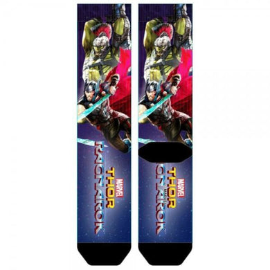 Thor Ragnarok Sublimated Socks - Superhero Supervillain