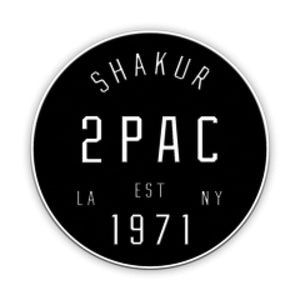 Tupac Shakur | Coast To Coast Patch - Superhero Supervillain - United States - Superherosupervillain.com