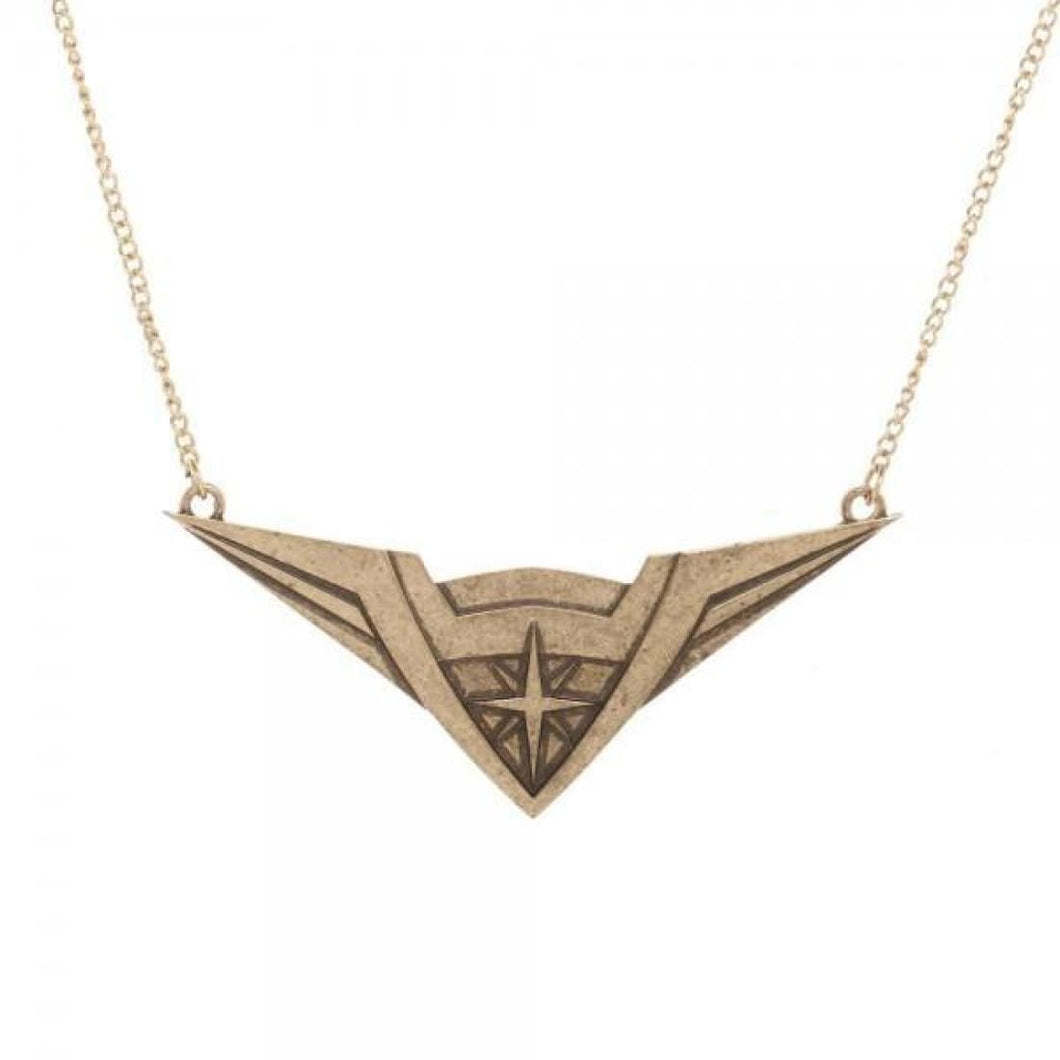 Wonder Woman Tiara Necklace - Superhero Supervillain - United States - Superherosupervillain.com