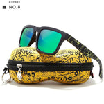 "KDEAM ""Play-Cool"" Polarized Sunglasses With Case"