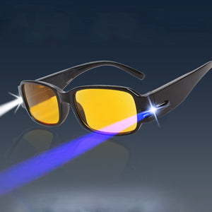 Adjustable Magnetic Glasses with LED