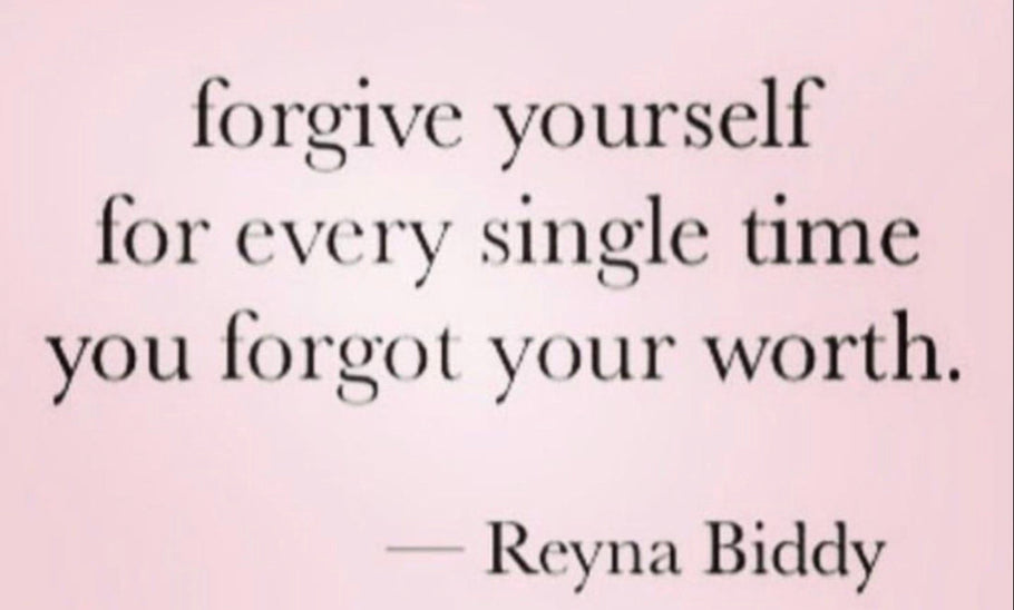 Forgive Yourself So You Can Move Forward