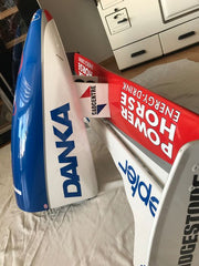 1997 Damon Hill Arrows complete Nosecone signed Hungary GP -Podium for D Hill - - Formula 1 Memorabilia
