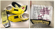 2012 Nico Rosberg Gloves and Shoes - Formula 1 Memorabilia