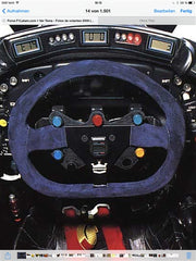1995 Michael Schumacher steering wheel - SOLD - - Formula 1 Memorabilia