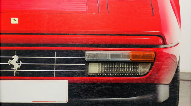 Ferrari 328 turning signal wall art