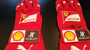 Fernando Alonso gloves from the 2014 Abu Dhabi GP - Formula 1 Memorabilia