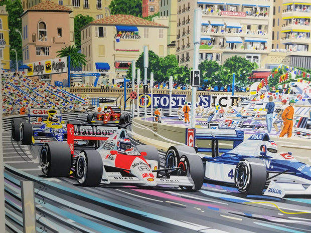 'Monaco Grand Prix', after Randy Owens - Formula 1 Memorabilia